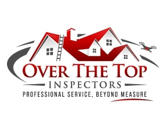 Over The Top Inspectors logo design