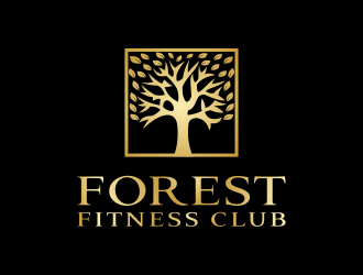 Forest Fitness Club logo design