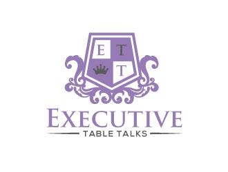 Executive Table Talks logo design