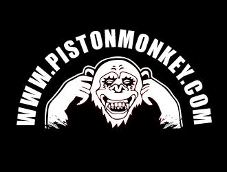 www.pistonmonkey.com logo design
