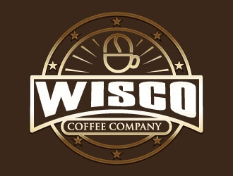Wisco Coffee Company  logo design