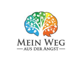 Mein Weg aus der Angst logo design