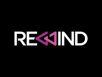 Rewind logo design