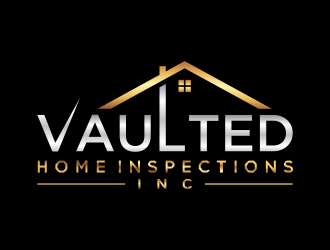 Vaulted Home Inspections Inc logo design