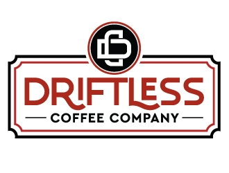Driftless Coffee logo design