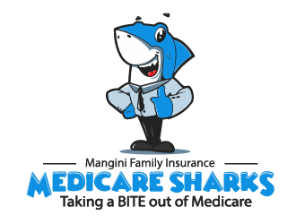 Mangini Family Insurance logo design