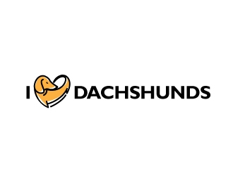 ilovedachshunds logo design