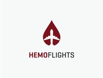 HemoFlights logo design