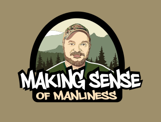 Making Sense of Manliness logo design