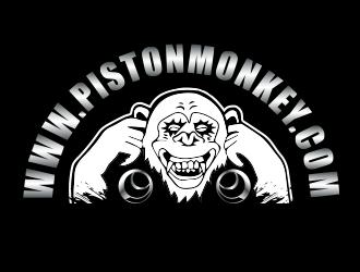 www.pistonmonkey.com logo design by BeDesign