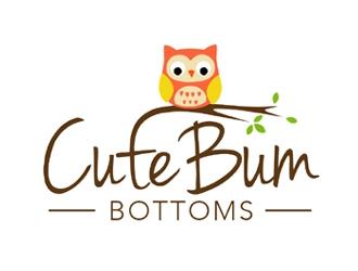 Cute Bum Bottoms logo design
