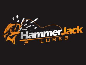 HammerJack Lures logo design