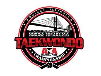 Bridge to Success Taekwondo Championship logo design winner