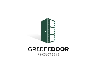 Greene Door Productions logo design