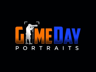 GameDay Portraits logo design