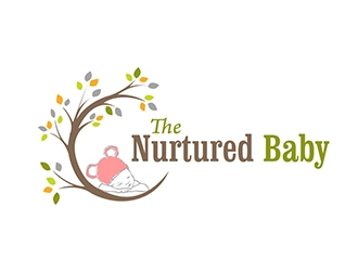 The Nurtured Baby logo design
