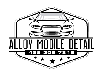 Alloy Mobile Detail logo design