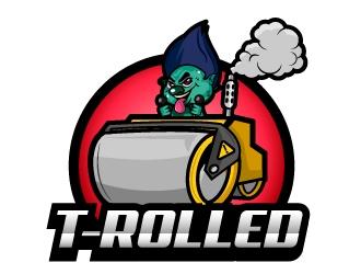T-Rolled logo design