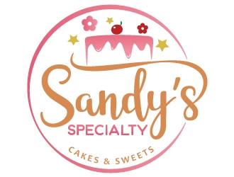 Sandys Specialty Cakes & Sweets logo design