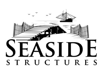 Seaside Structures  logo design