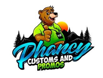 Phancy Customs and Promos logo design winner