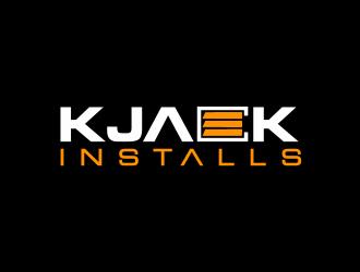 KJack Installs logo design