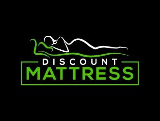 Discount Mattress logo design