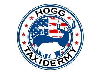 Hogg Taxidermy Logo Design