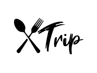 X Trip logo design