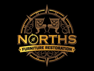 Norths Furniture Restoration logo design