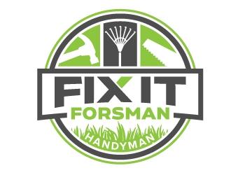 Fix It Forsman logo design winner
