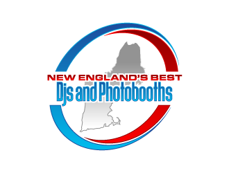 New England's Best Dj's and Photobooth's logo design winner