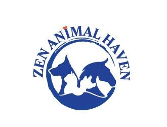 Zen Animal Haven logo design by Webphixo