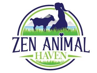 Zen Animal Haven logo design by Upoops
