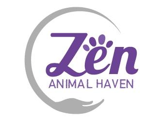 Zen Animal Haven logo design by MonkDesign