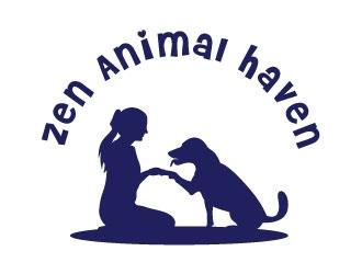 Zen Animal Haven logo design by Suvendu