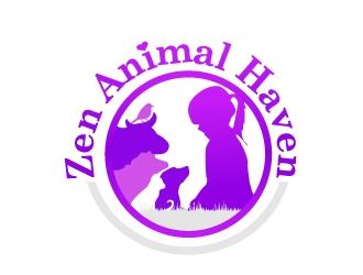 Zen Animal Haven logo design by art-design