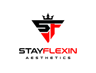 Stayflexin Aesthetics  logo design