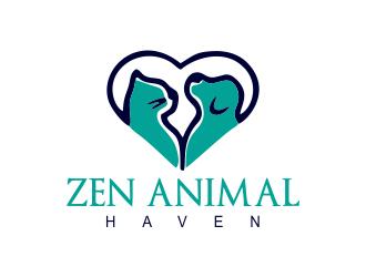 Zen Animal Haven logo design by JessicaLopes