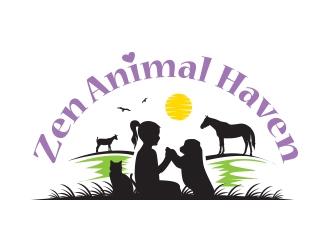 Zen Animal Haven logo design by logoguy