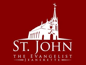 St. John the Evangelist, Jeanerette logo design