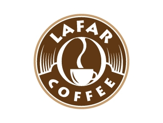 Lafar Coffee logo design
