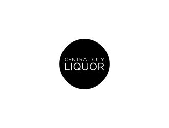 Central City Liquor  logo design by salis17