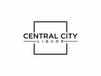 Central City Liquor  logo design by eagerly