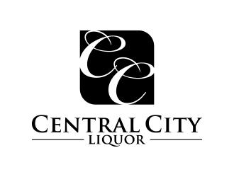 Central City Liquor  logo design by lexipej