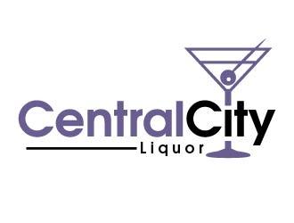 Central City Liquor  logo design by shravya