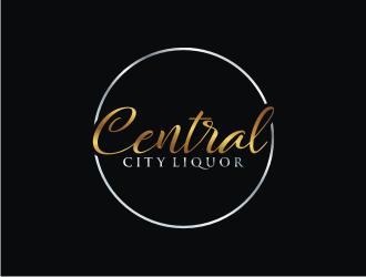 Central City Liquor  logo design by bricton