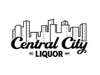 Central City Liquor  logo design by Ultimatum