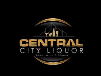 Central City Liquor  logo design by art-design