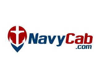 NavyCab.Com logo design